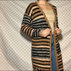Spense Long Chunky Cardigan